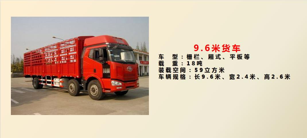 9.6米货车